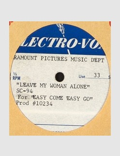 Leave My Woman Alone (Demo Acetate)