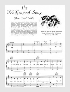The Whiffenpoof Song (Thanks to Christopher Brown)